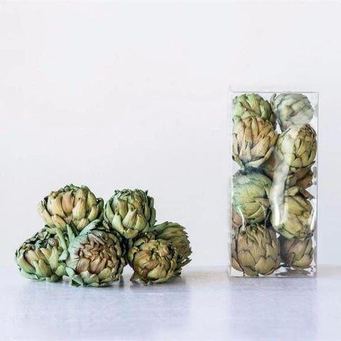 dried artichoke bunches
