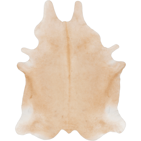 Carmel beige cow hide