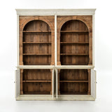 Carroll reclaimed pine wood cabinet