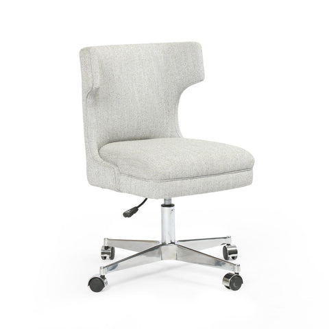 Clanton grey swivel desk chair