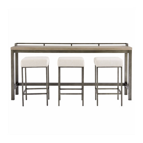 Dixon console table counter stool set