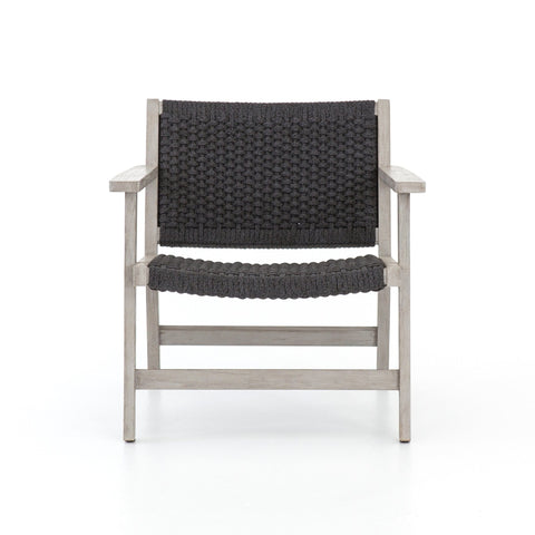 Franklin outdoor teak charcoal chair
