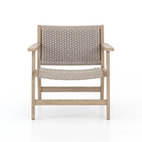 Franklin outdoor teak brown chair
