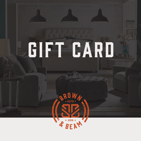 Brown + Beam Gift Card