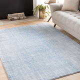 Graham blue acrylic rug