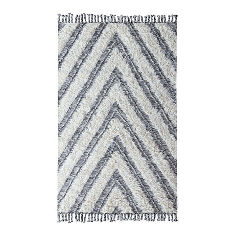 Arrow Wool Shag Rug