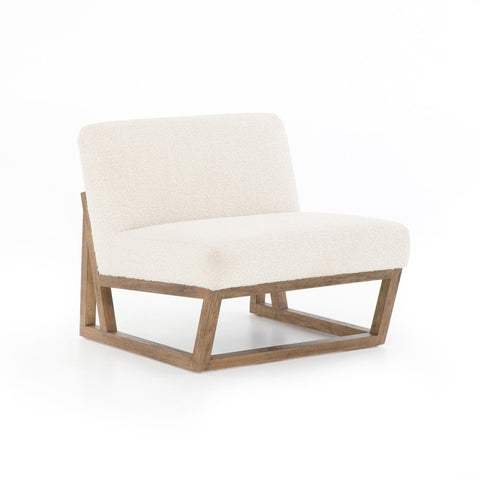 Jenner off-white upholstery occasional chair
