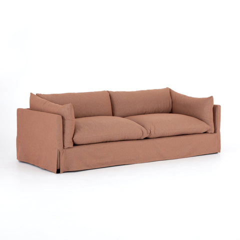 Karis Slipcovered Sofa 90""
