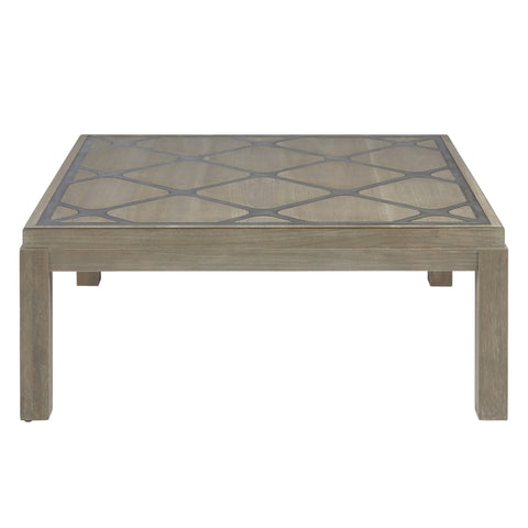 Keaton metal inlay coffee table