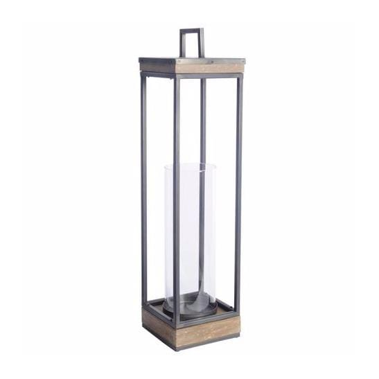 kimberly lantern wood metal glass