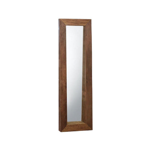 Ayla narrow mirror reclaimed wood