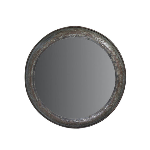 Trenton Mirror metal frame mirror reflective interiror