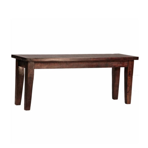 Orlando brown wood bench