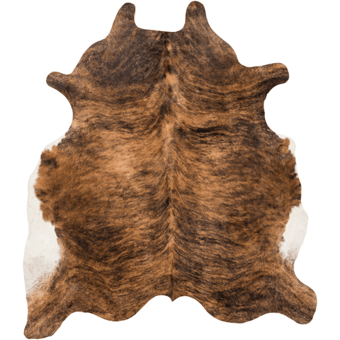 Ozark brown cow hide