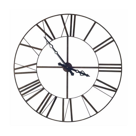 Pendleton metal wall clock