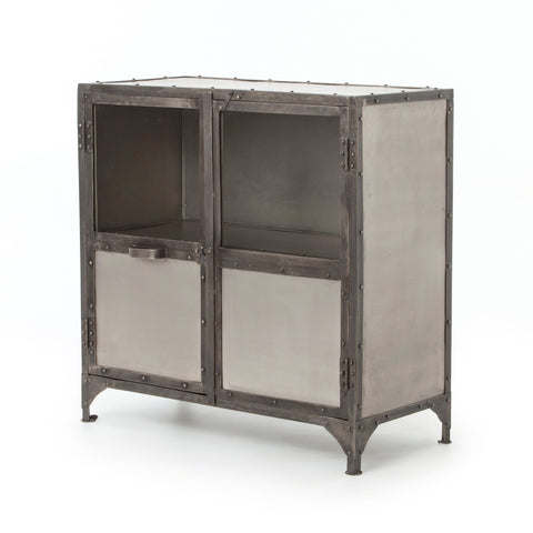 Percy iron nickel small sideboard