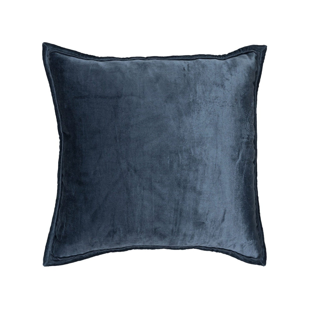 Cobalt Velvet Pillow