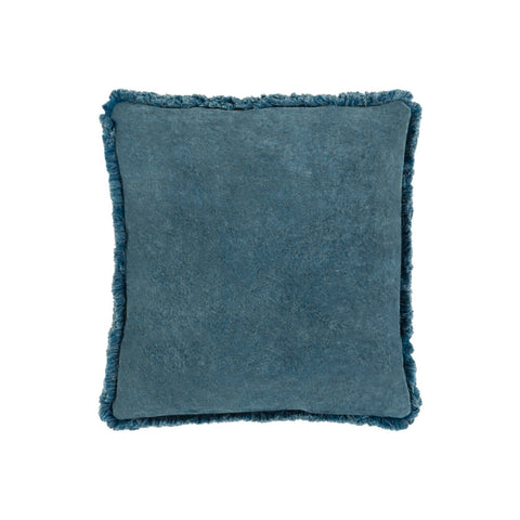 Velvet Teal Pillow 20""