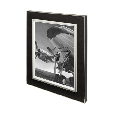 Aviation 1 Art Work metal black frame