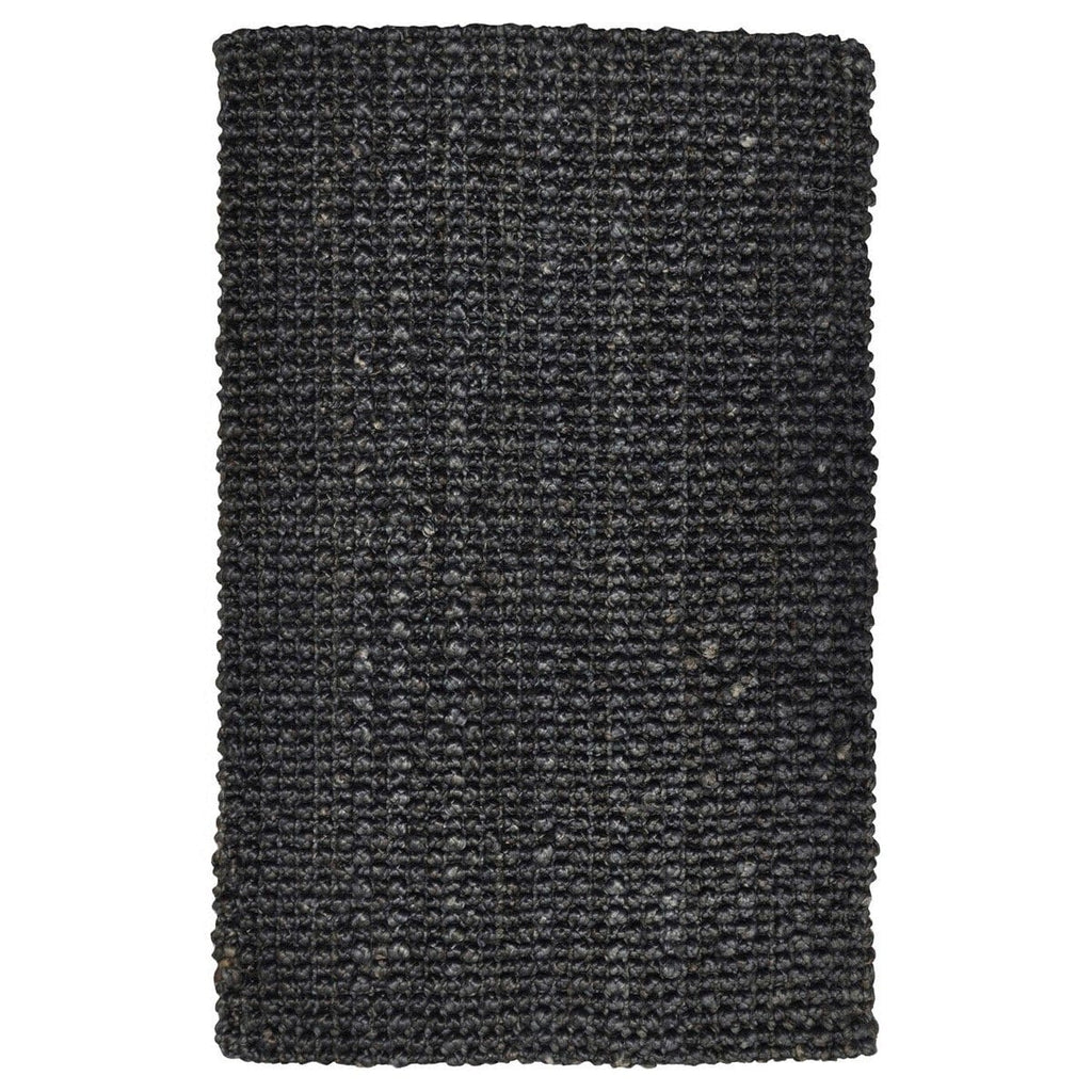 Plymouth charcoal jute rug