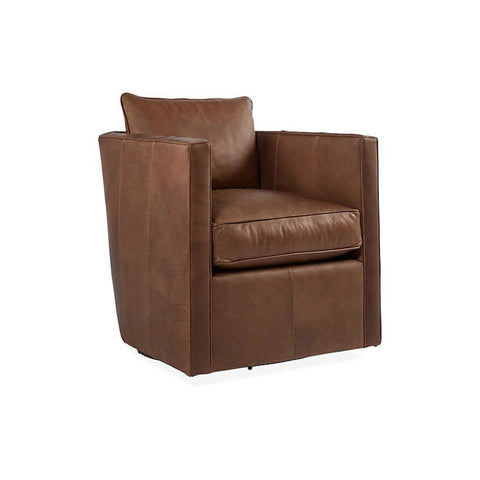 Brown & Beam Exclusive - Ryder Leather Swivel Chair