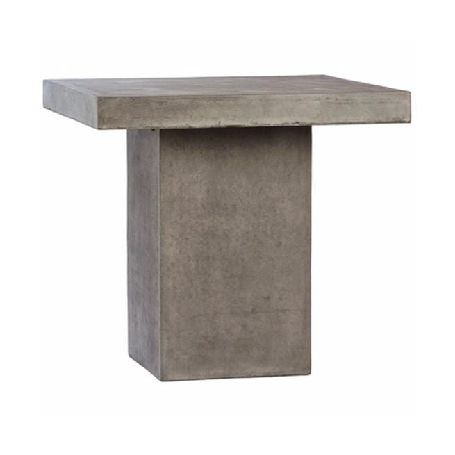 vail concrete square counter table