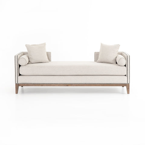 Venus off-white upholstery chaise