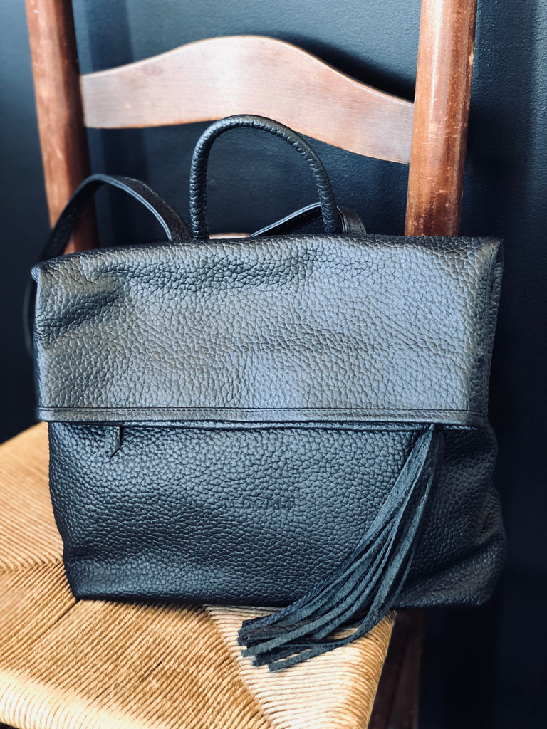 Veronica Leather Backpack