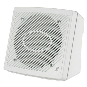 "Poly-Planar 5.25"" Premium Enclosed Flush 2-Way Marine Speaker - (Pair) White [MA1610]"