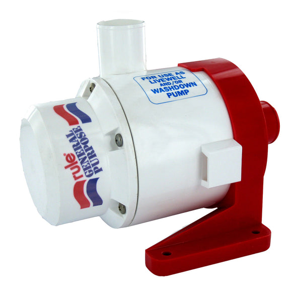 Rule 3800 G.P.H General Purpose Centrifugal Pump [17A]