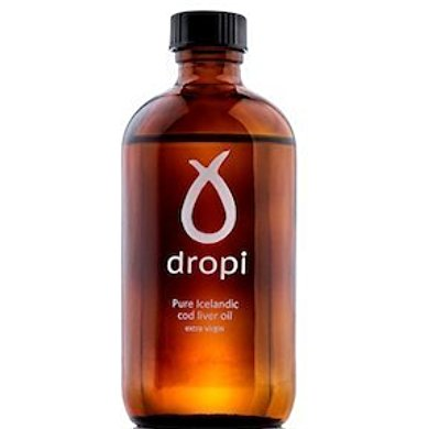 Dropi Dropi Pure Icelandic Cod Liver Oil   Extra Virgin 220 ML