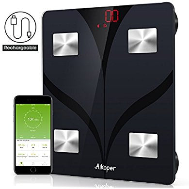 Aikoper Bluetooth Body Fat Scale Body Composition Analyzer