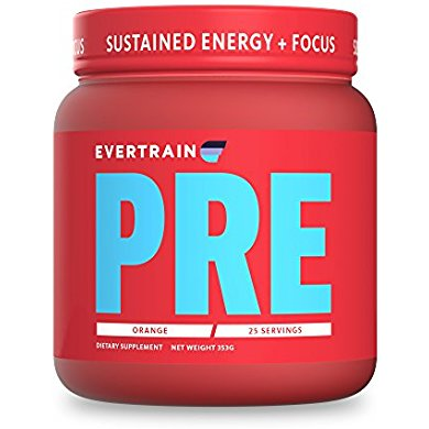 EVERTRAIN PRE - Complete Clean Pre Workout Powder With