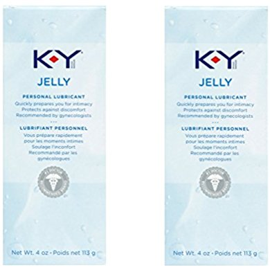 K-Y Jelly Personal Water Based Lubricant, 4 Ounce (pack