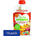Happy Tot Organic Stage 4 Baby Food, Love My Veggies