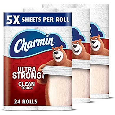 Charmin Ultra Strong Toilet Paper, Family Mega Roll