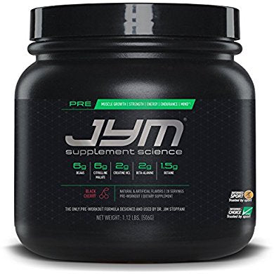 JYM Supplement Science, PRE JYM, Pre-Workout with BCAA's