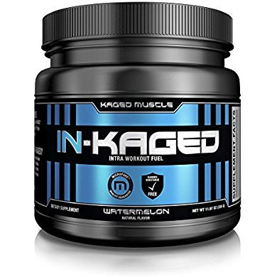 IN-KAGED Intra-Workout Powder  BCAA Essential Amino