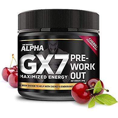 alpha gx7 pre workout maximized energy for workouts