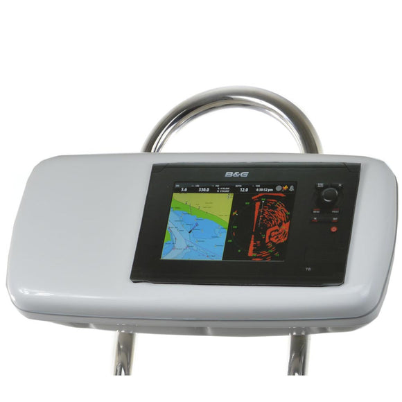 NavPod GP1040-08 SystemPod Pre-Cut f/B&G Zeus Touch 8 & Simrad NSS8 Mounted In Center f/9.5