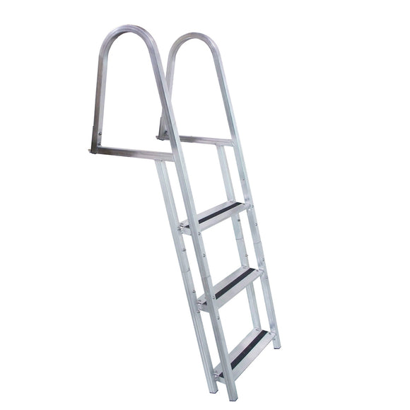 Dock Edge STAND-OFF Aluminum 3-Step Ladder w/Quick Release [2053-F]