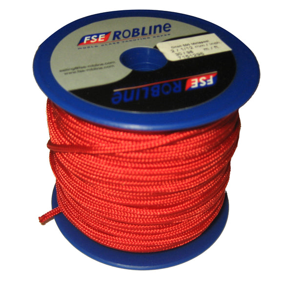 Robline Mini Reel Orion 500 - Red - 2mm x 30M [MR-2R]