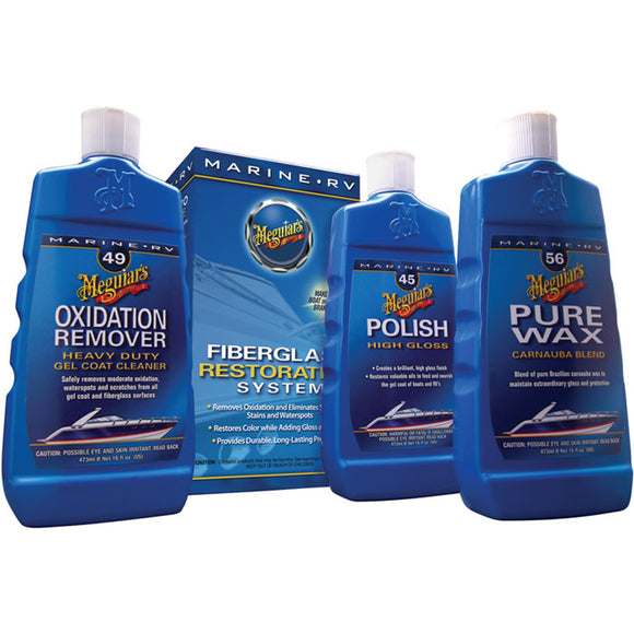 Meguiar's MG Fiberglass Oxidation Removal Kit [M4965]