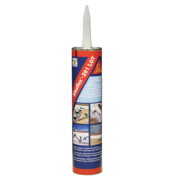 Sika Sikaflex 291 LOT Slow Cure Adhesive  Sealant 10.3oz(300ml) Cartridge - Mahogany [90929]