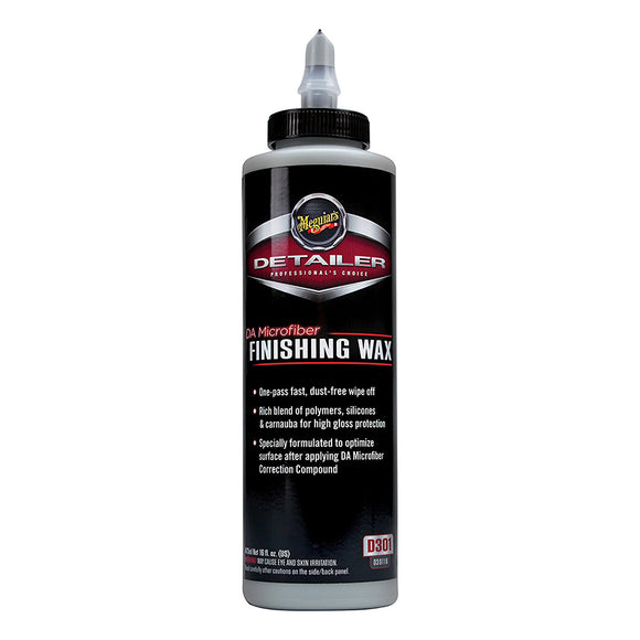 Meguiars DA Microfiber Finishing Wax - 16oz [D30116]