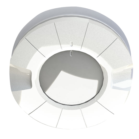 Lumitec Aurora LED Dome Light - White  Red Output - Flush Mount [101605]