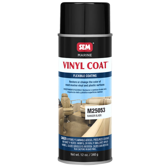 SEM Vinyl Coat - Ranger Black - 12oz [M25053]