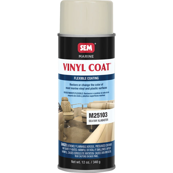 SEM Vinyl Coat - Sea Ray Alabaster - 12oz [M25103]