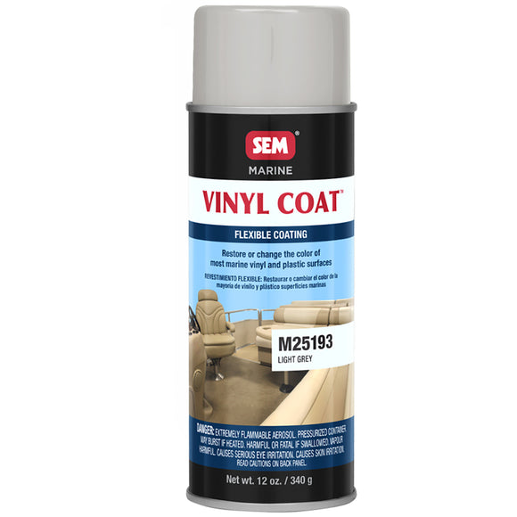 SEM Vinyl Coat - Light Grey - 12oz [M25193]
