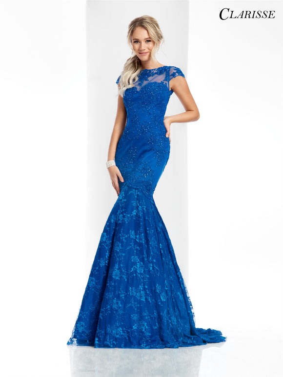 Clarisse Clarisse 3065 Mermaid Lace Dress